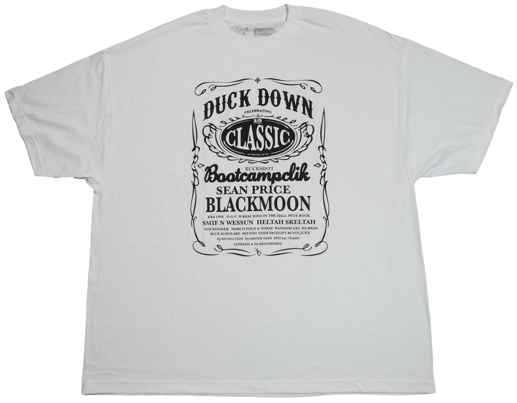 <!--020110927036304-->Duck Down Records - 'Jack D' [(White) T-Shirt]
