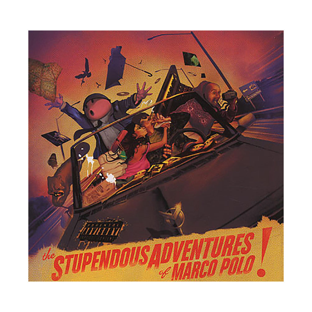 <!--120100629020917-->Marco Polo - 'The Stupendous Adventures Of Marco Polo (Hard To Find B-Sides, Remixes, and Exclusives)' [CD]