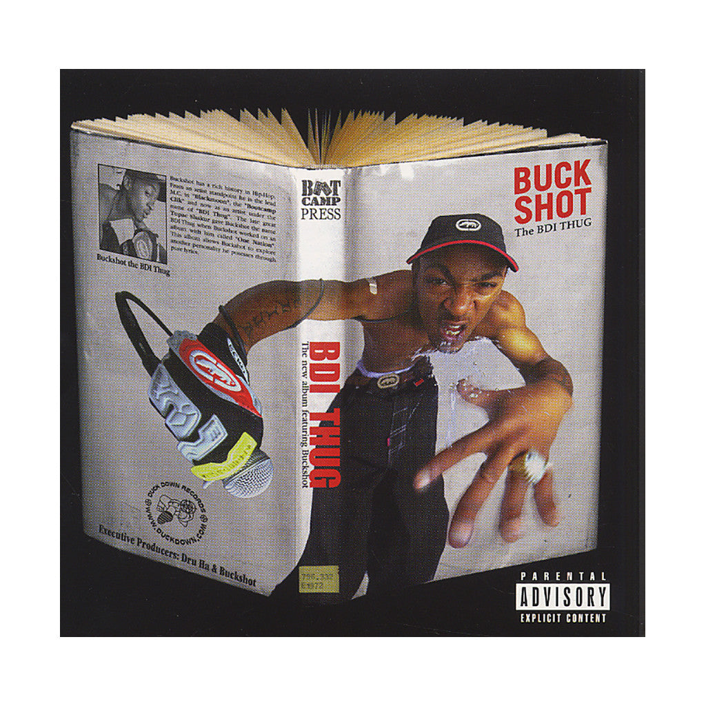 <!--019991026004357-->Buckshot - 'The BDI Thug' [(Black) Vinyl [2LP]]