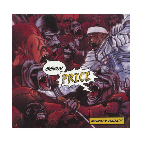 "[""Sean Price - 'Monkey Barz (Re-Issue)' [(Black) Vinyl [2LP]]""]"