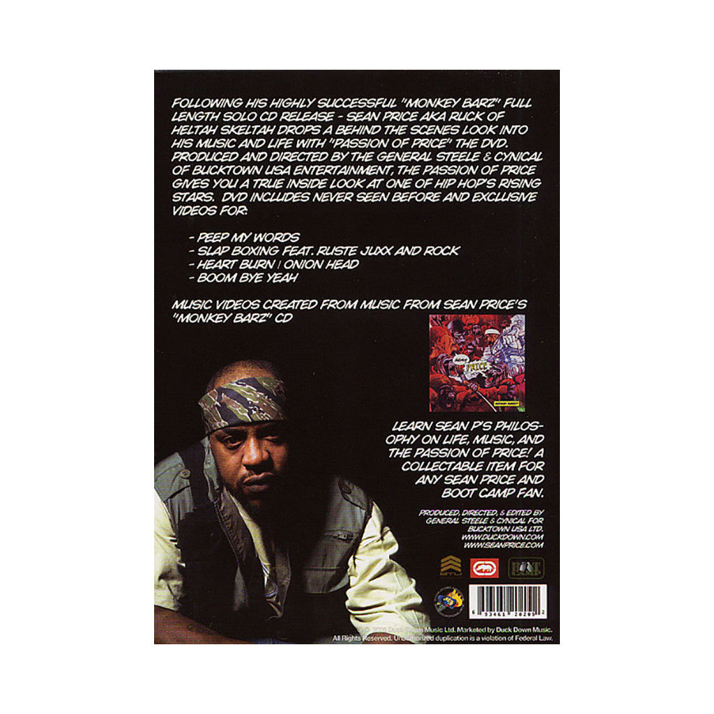 <!--020050913005600-->Sean Price - 'Passion Of Price' [DVD]