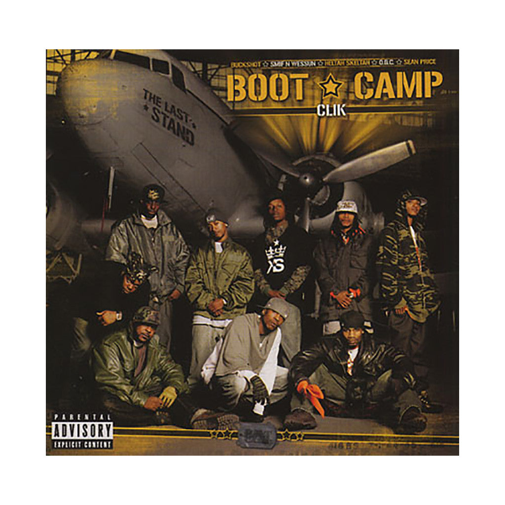 <!--020060912007289-->Boot Camp Clik - 'The Last Stand' [(Black) Vinyl [2LP]]
