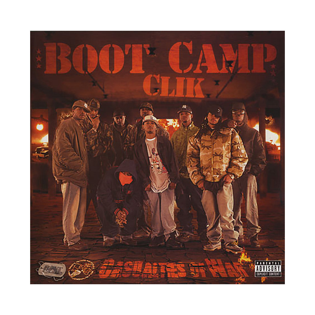 <!--020070904010557-->Boot Camp Clik - 'Casualties Of War' [(Black) Vinyl [2LP]]
