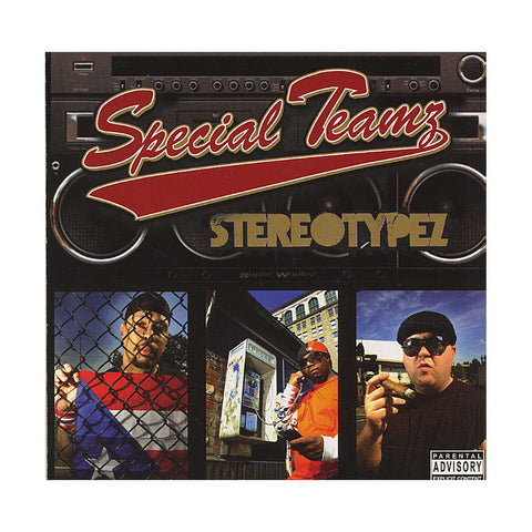 Special Teamz - 'Stereotypez' [CD]