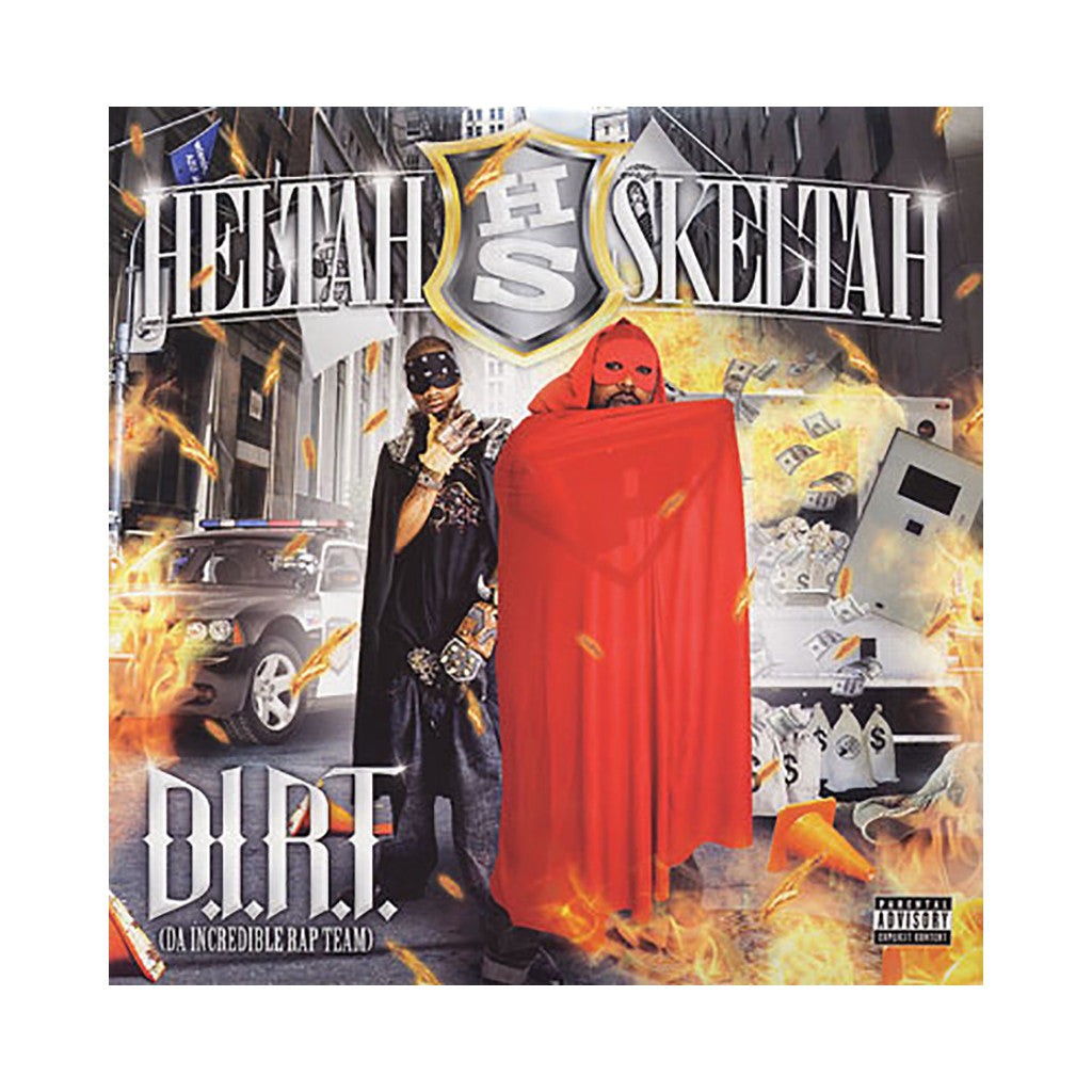 <!--020081021015038-->Heltah Skeltah - 'D.I.R.T. (Da Incredible Rap Team)' [(Black) Vinyl [2LP]]