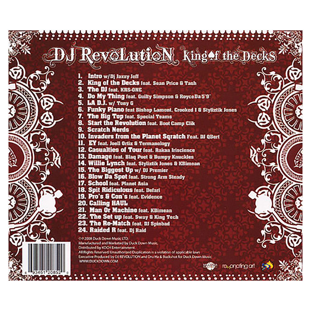 DJ Revolution - 'King Of The Decks' [CD]
