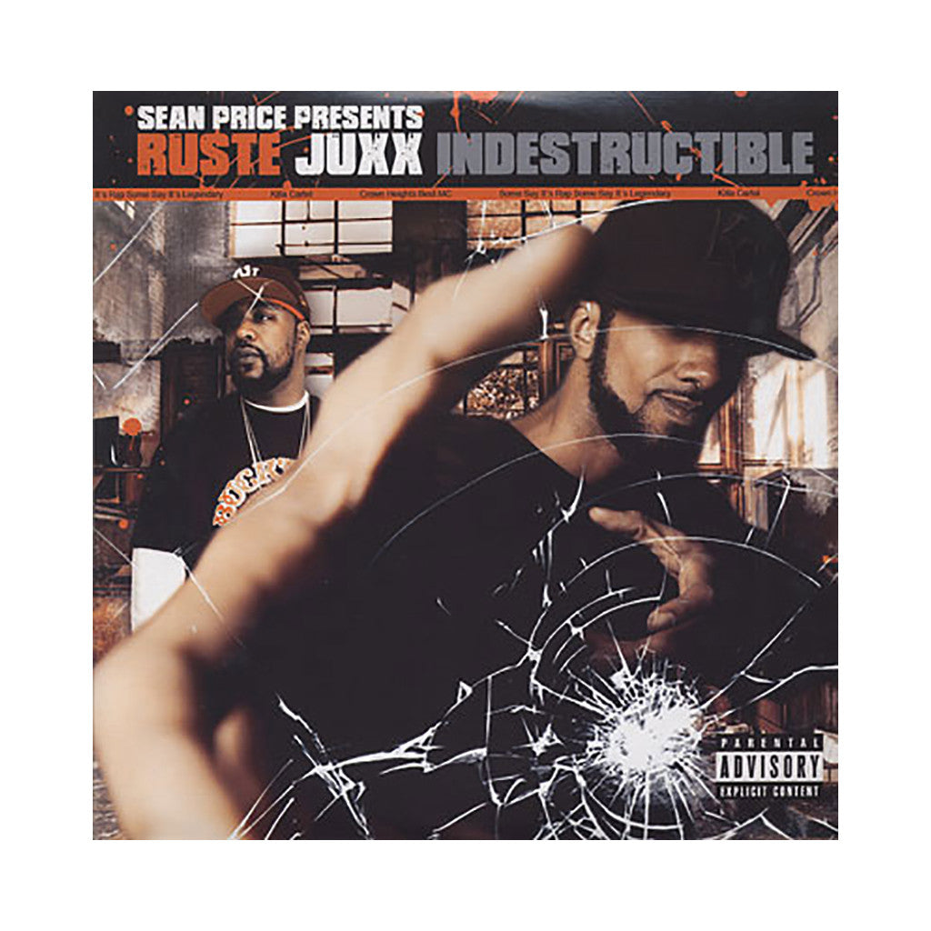 Ruste Juxx (Sean Price Presents) - 'Indestructable' [(Black) Vinyl [2LP]]