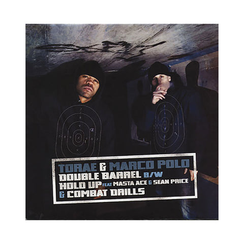 "[""Torae & Marco Polo - 'Double Barrel/ Hold Up/ Combat Drills' [(Black) 12\"" Vinyl Single]""]"