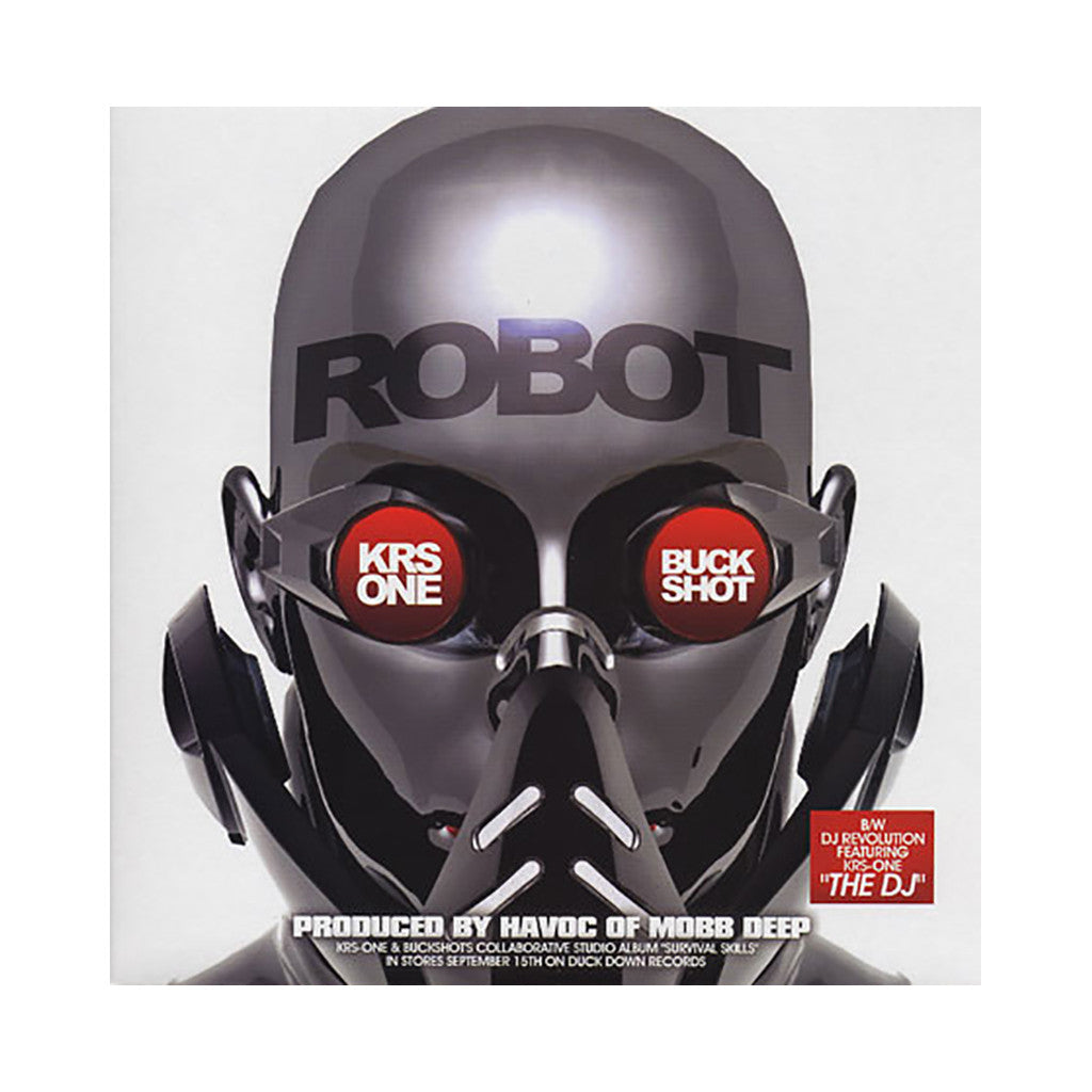 <!--2009081659-->KRS-One & Buckshot - 'Robot (INSTRUMENTAL)' [Streaming Audio]