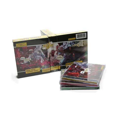 Boot Camp Clik Presents: Sean Price + 9th Wonder & Buckshot + Smif-N-Wessun - 'Triple Threat Box Set: Monkey Barz + Chemistry + Reloaded' [CD [3CD]]