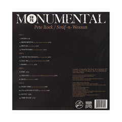 Pete Rock & Smif-N-Wessun - 'Monumental' [(Black) Vinyl [2LP]]