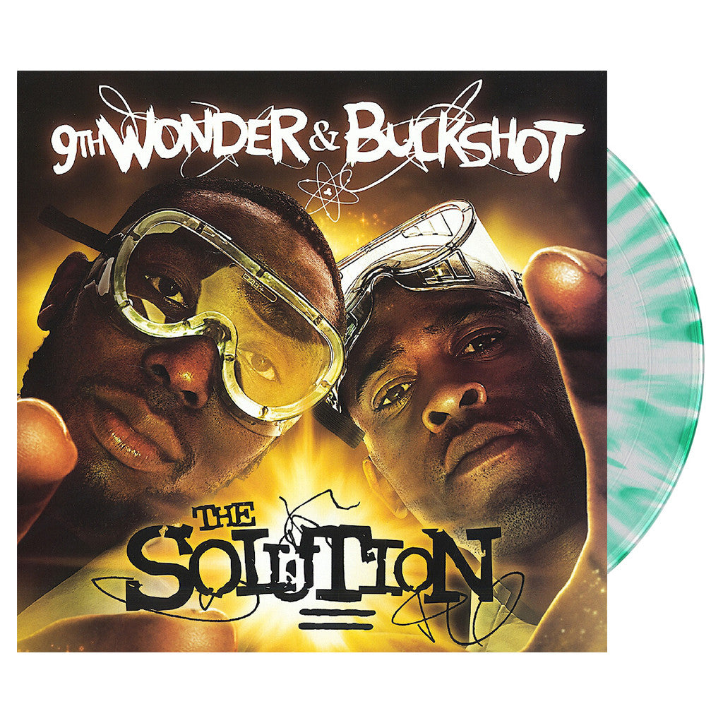9th Wonder & Buckshot - 'The Solution (Deluxe Laboratory Edition)' [(Green Splatter) Vinyl [2LP]]