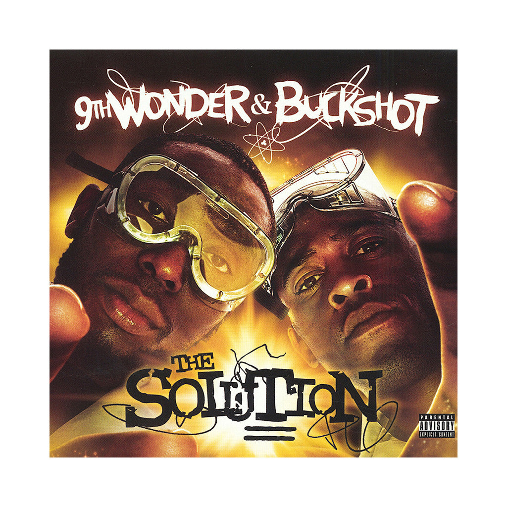 <!--120130212051076-->9th Wonder & Buckshot - 'The Solution' [(Black) Vinyl [2LP]]