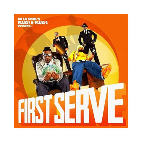 "[""First Serve - 'First Serve' [(Black) Vinyl [2LP]]""]"