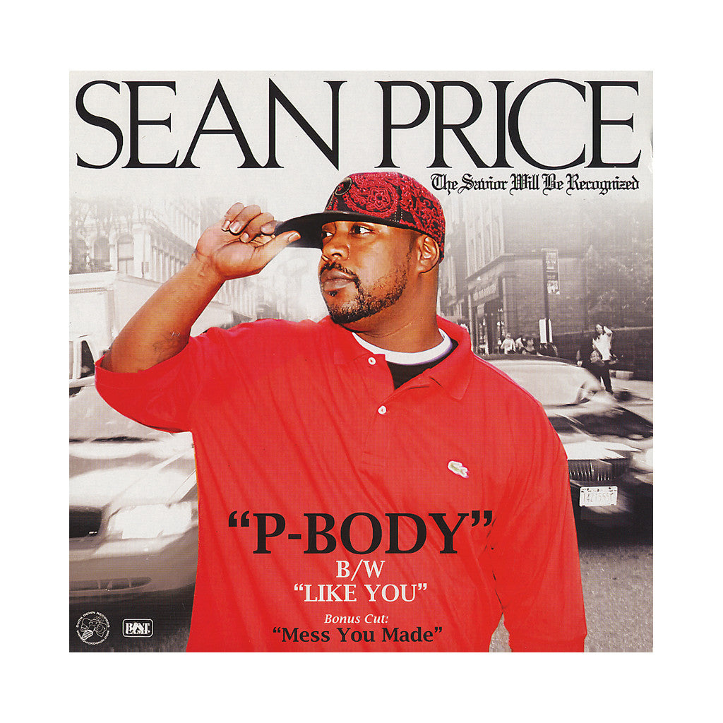 "<!--020070220009185-->Sean Price - 'P-Body/ Like You/ Mess You Made' [(Black) 12"" Vinyl Single]"