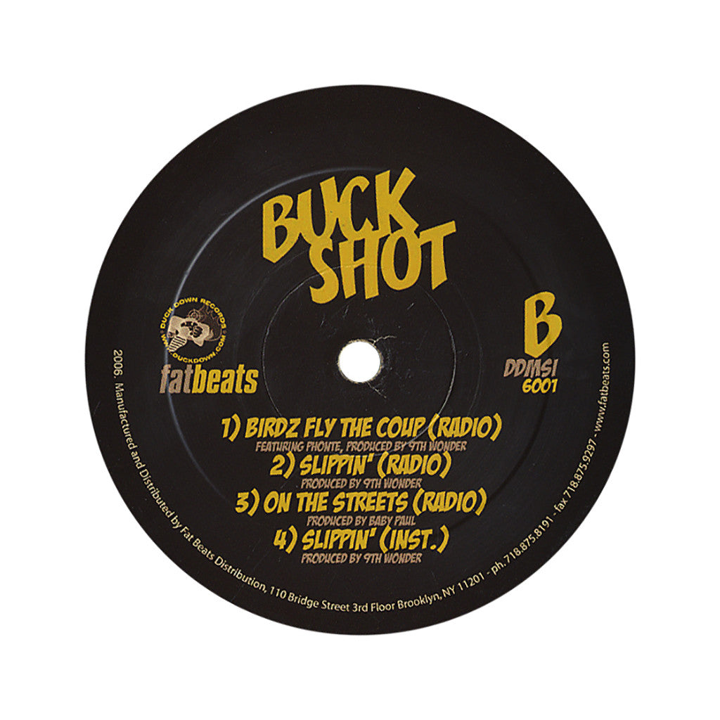 "<!--020060411006954-->Sean Price - 'Jamaican/ Bye Bye/ 1, 2 Y'all b/w Birdz Fly The Coup/ Slippin'/ On The Streets' [(Black) 12"""" Vinyl Single]"