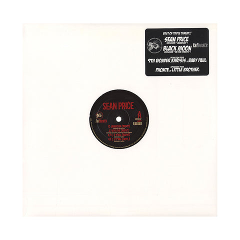"Sean Price - 'Jamaican/ Bye Bye/ 1, 2 Y'all b/w Birdz Fly The Coup/ Slippin'/ On The Streets' [(Black) 12"" Vinyl Single]"