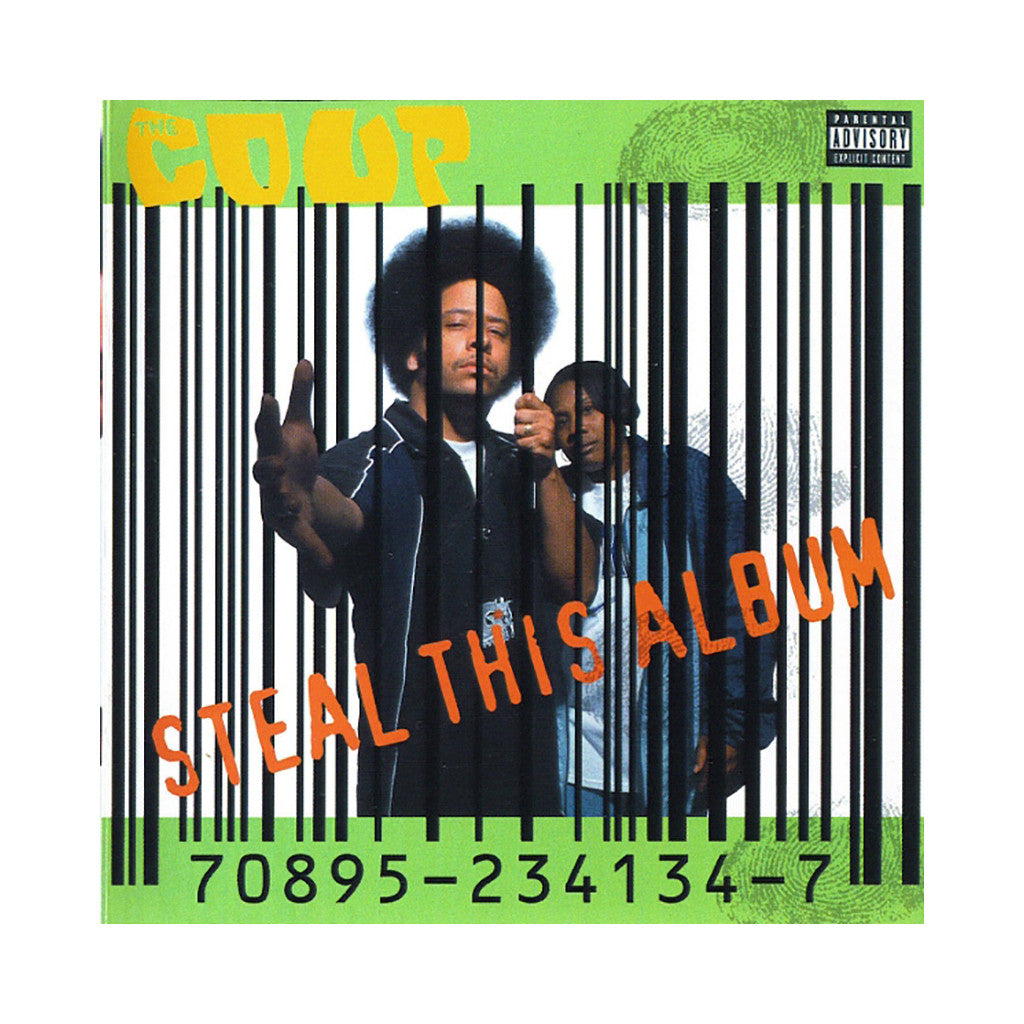 <!--019980101007322-->The Coup - 'Steal This Album' [(Black) Vinyl [2LP]]