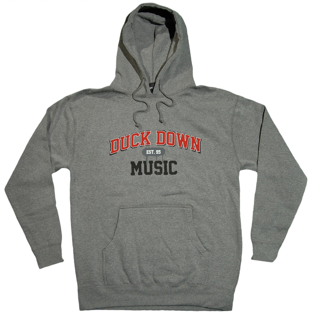<!--020120117040824-->Duck Down Records - 'Est. 95' [(Gray) Hooded Sweatshirt]