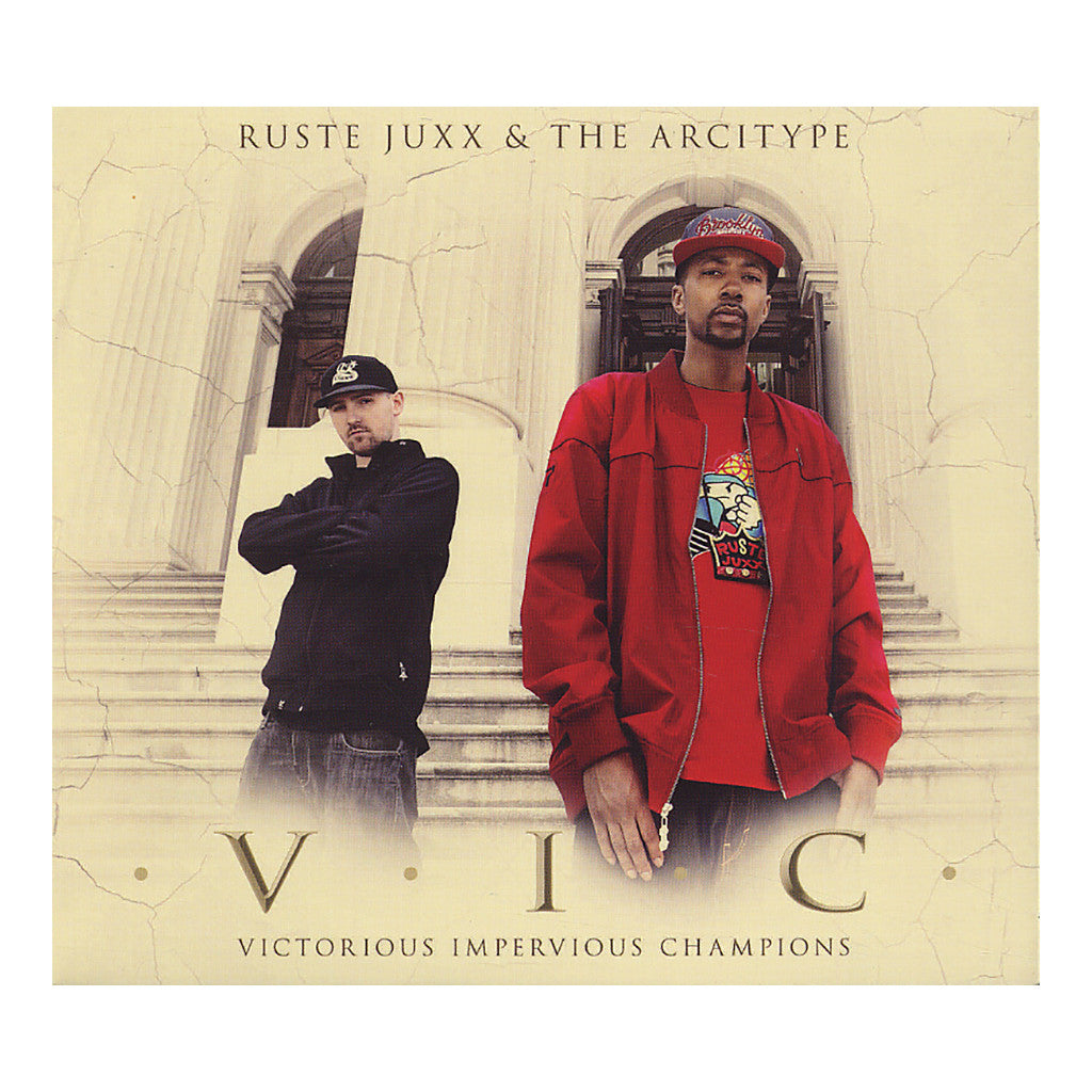 Ruste Juxx & The Arcitype - 'V.I.C. (Victorious Impervious Champions)' [CD]