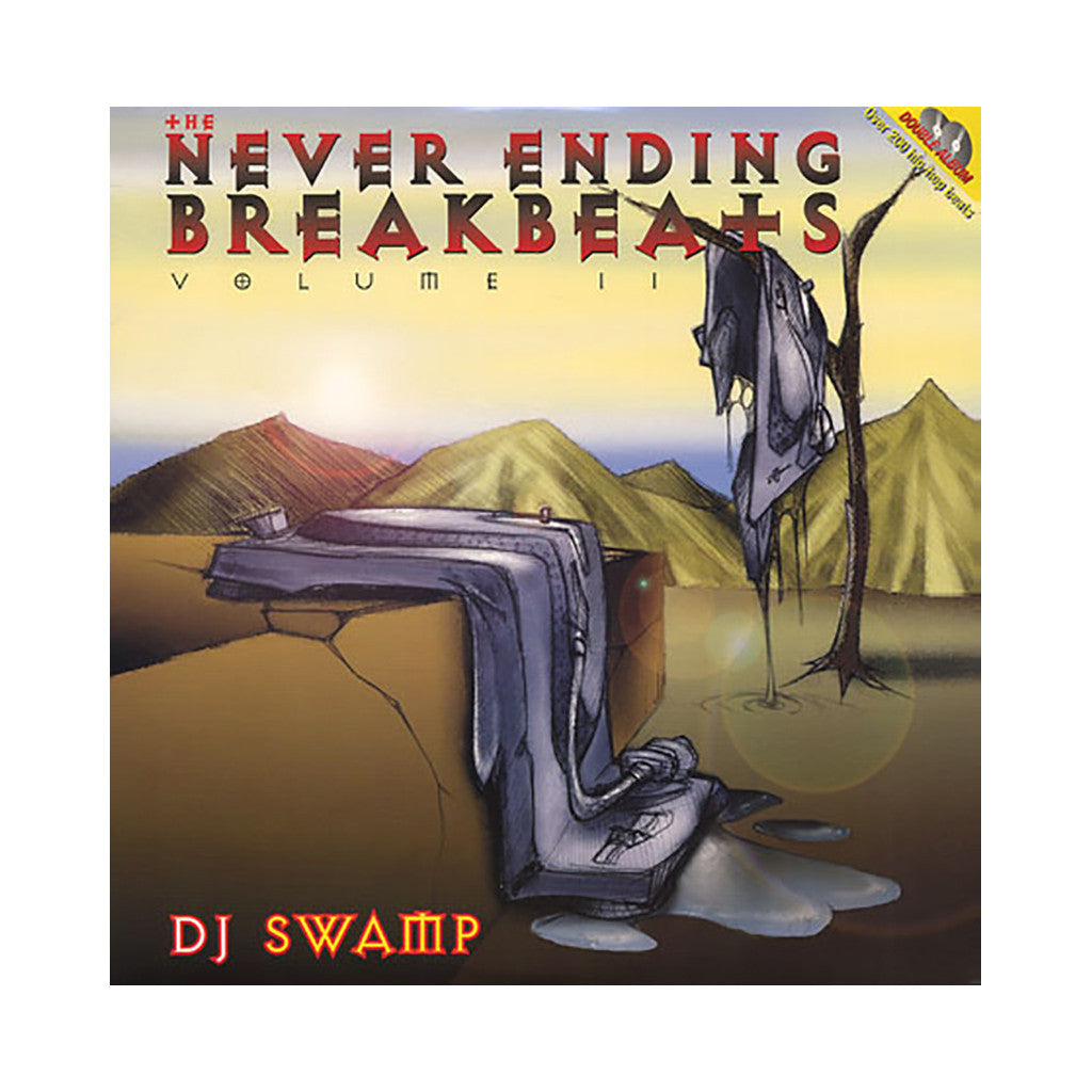 <!--019000101012292-->DJ Swamp - 'The Never Ending Breakbeats Vol. 2' [(Black) Vinyl [2LP]]