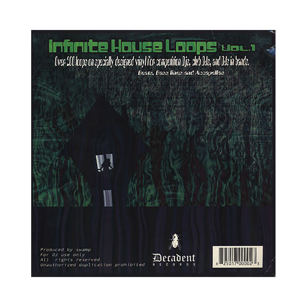 <!--019000101012305-->DJ Swamp - 'Infinite House Loops Vol. 1' [(Black) Vinyl [2LP]]