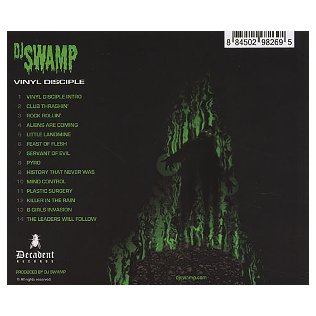DJ Swamp - 'Vinyl Disciple' [CD]