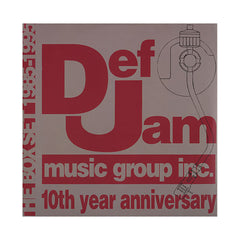 <!--019951121011422-->Various Artists - 'Def Jam Music Group 1985-1995: 10th Year Anniversary (Best Of Def Jam Recordings)' [(Black) Vinyl [2LP]]