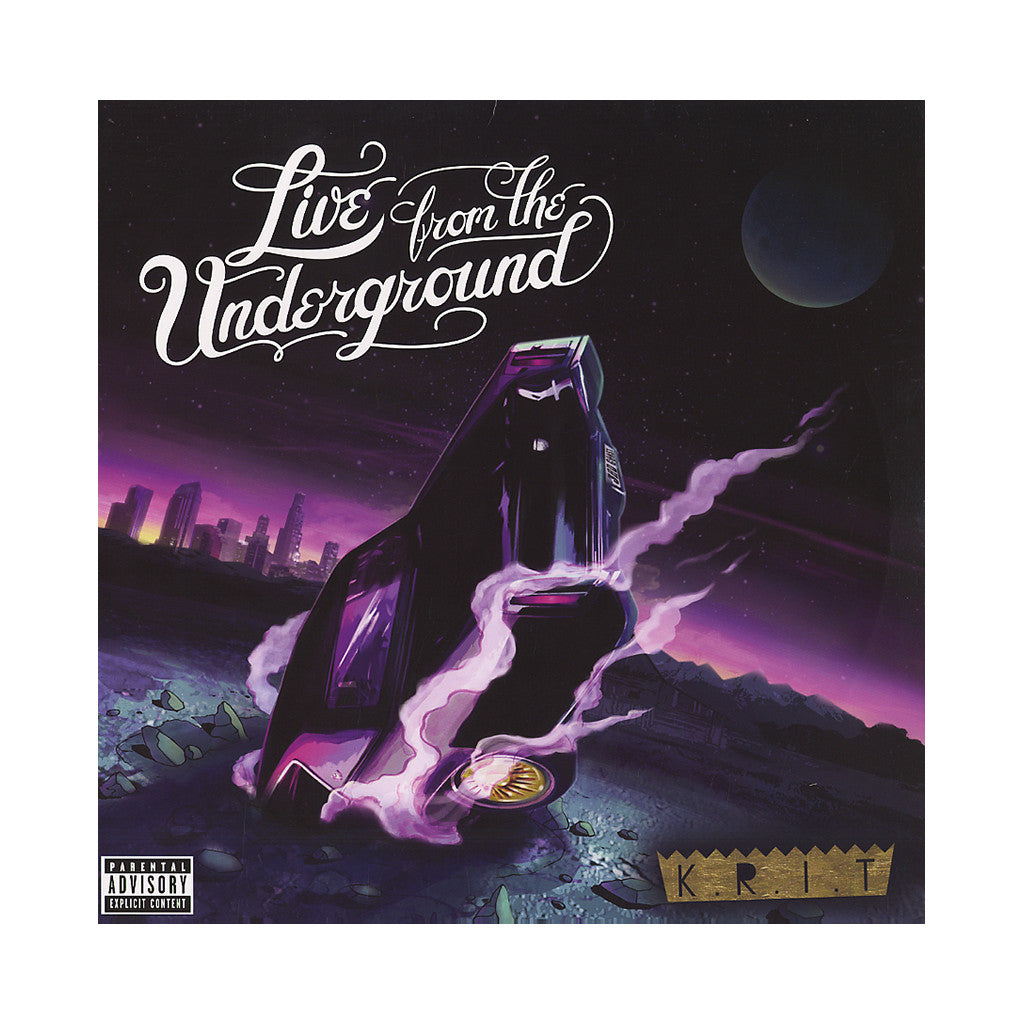 <!--120120703044884-->Big K.R.I.T. - 'Live From The Underground' [(Black) Vinyl [2LP]]