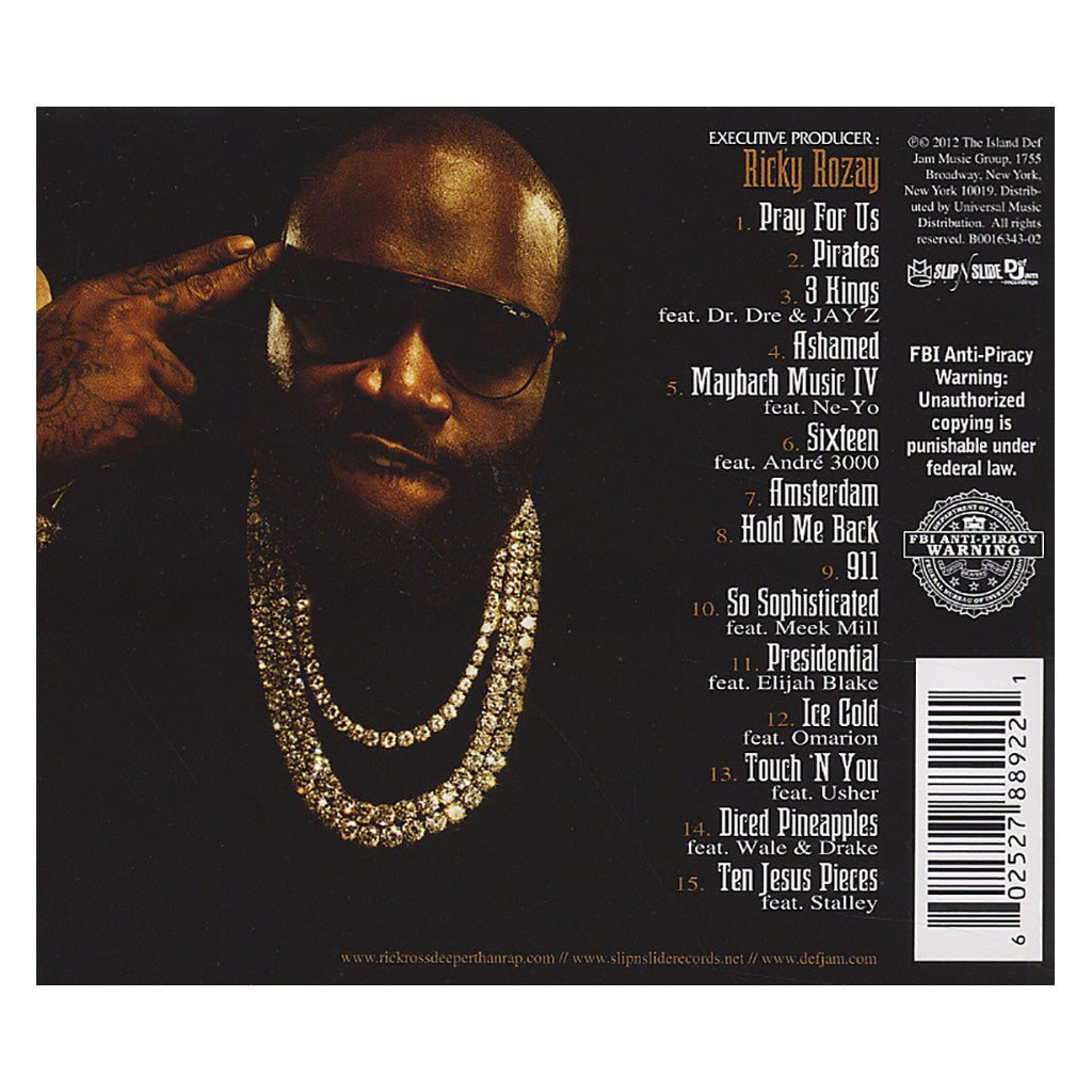 Rick Ross - 'God Forgives, I Don't' [CD]