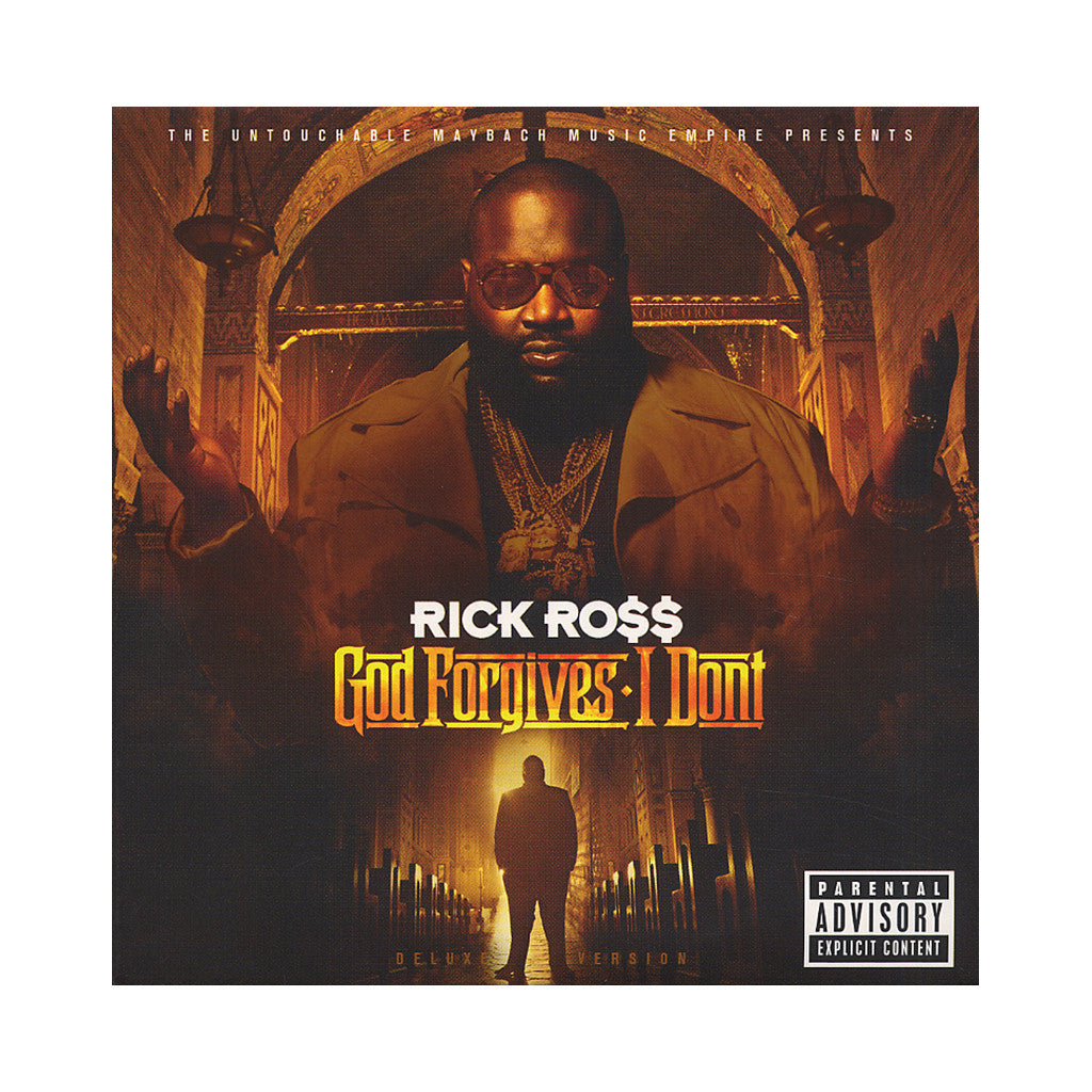 <!--120120731001486-->Rick Ross - 'God Forgives, I Don't (Deluxe Edition)' [CD]