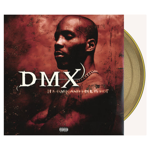 "[""DMX - 'It's Dark And Hell Is Hot (15 Year Anniversary Edition)' [(Gold) Vinyl [2LP]]""]"