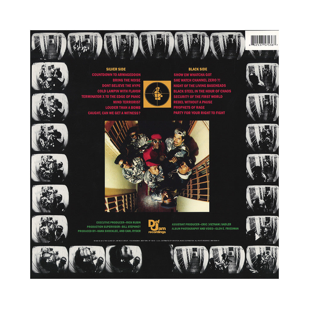 <!--2014041910-->Public Enemy - 'It Takes A Nation Of Millions To Hold Us Back' [(Black) Vinyl LP]