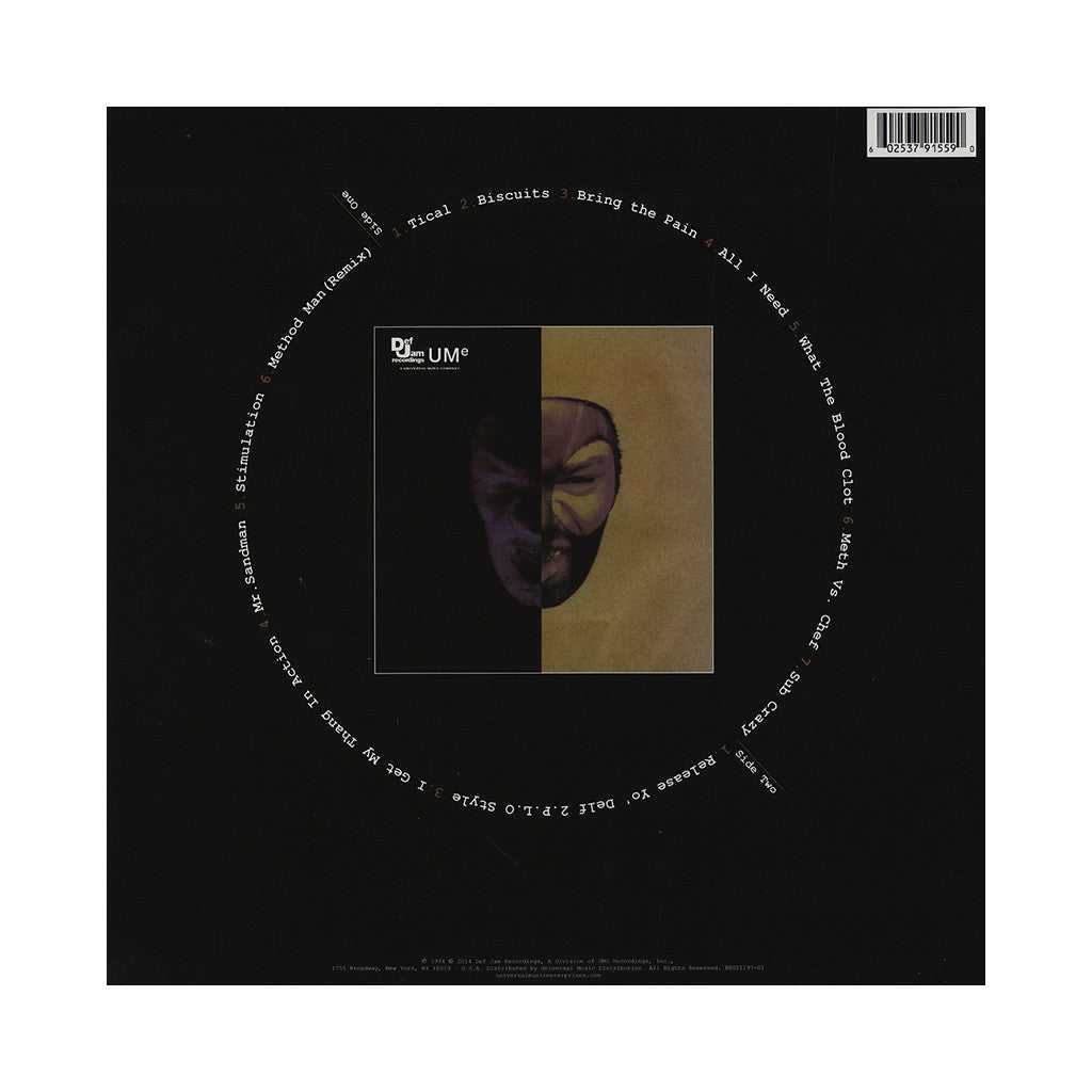 <!--2014091647-->Method Man - 'Tical' [(Black) Vinyl LP]