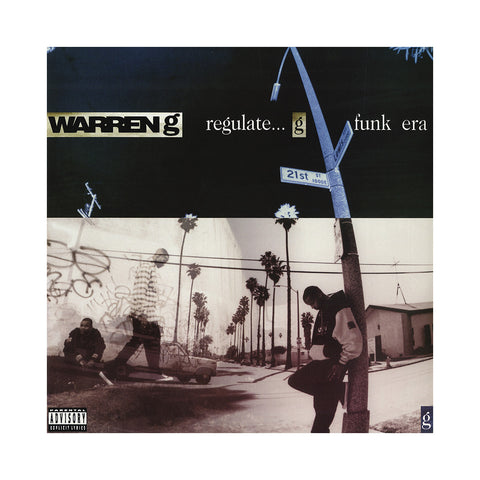 "[""Warren G - 'Regulate... G Funk Era (20th Anniversary Edition)' [(Black) Vinyl [2LP]]""]"