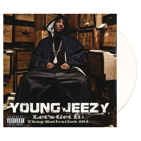 "[""Young Jeezy - 'Let's Get It: Thug Motivation 101' [(Snow White) Vinyl [3LP]]""]"