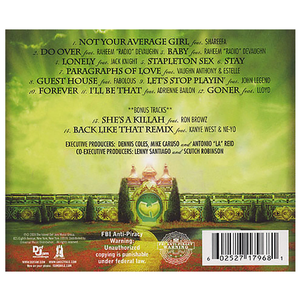 Ghostface Killah - 'Ghostdeini Wizard Of Poetry In Emerald City' [CD]