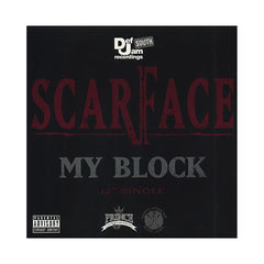 "Scarface - 'My Block/ Guess Who's Back' [(Black) 12"" Vinyl Single]"