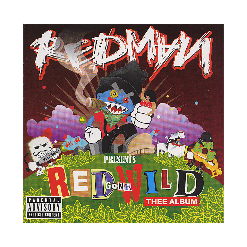 <!--020070403009302-->Redman - 'Red Gone Wild: Thee Album' [CD]