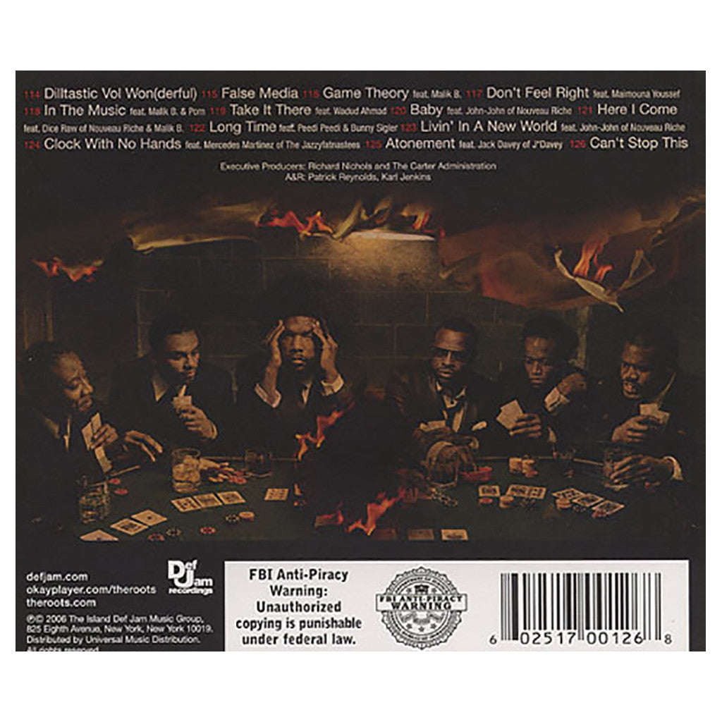 <!--120060905008106-->The Roots - 'Game Theory' [CD]
