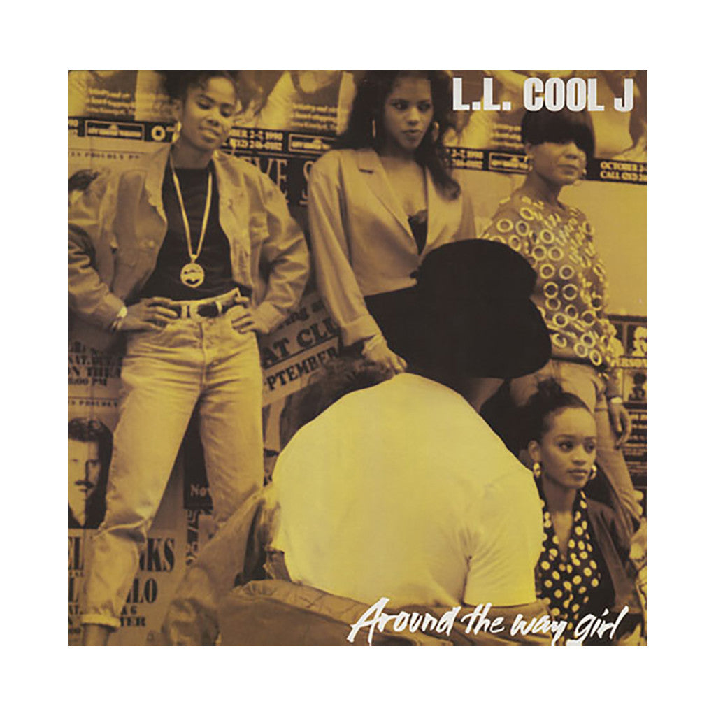 "<!--019900101011973-->LL Cool J - 'Around The Way Girl/ Around The Way Girl (Remixes)' [(Black) 12"" Vinyl Single]"
