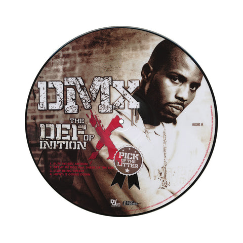 "[""DMX - 'The Definition Of X: Pick Of The Litter' [(Picture Disc) Vinyl [2LP]]""]"