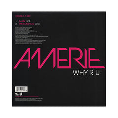 "<!--020090804017943-->Amerie - 'Why R U' [(Black) 12"" Vinyl Single]"