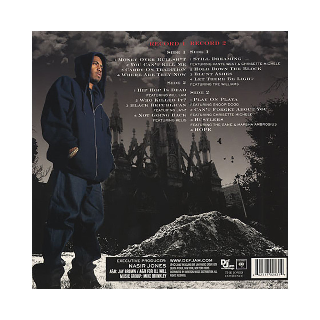 <!--120070417009436-->Nas - 'Hip Hop Is Dead' [(Black) Vinyl [2LP]]