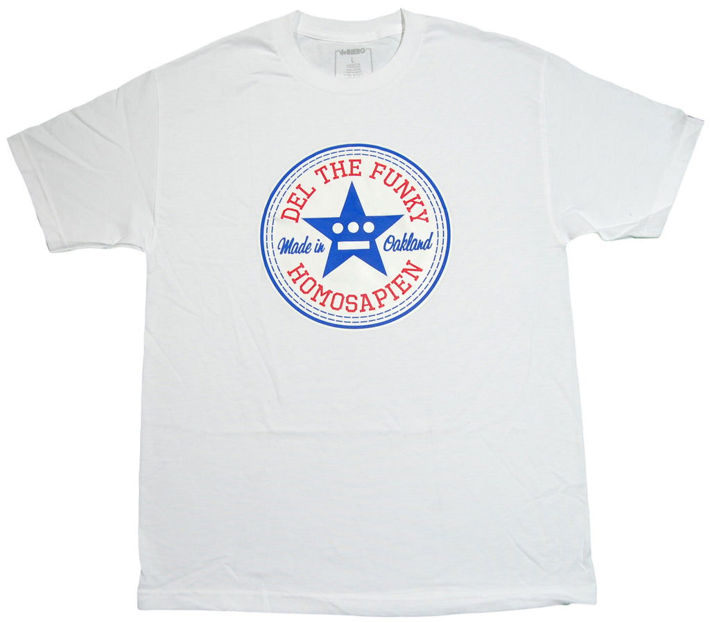 <!--2012120454-->delHiero (Hieroglyphics) - 'Made In Oakland' [(White) T-Shirt]