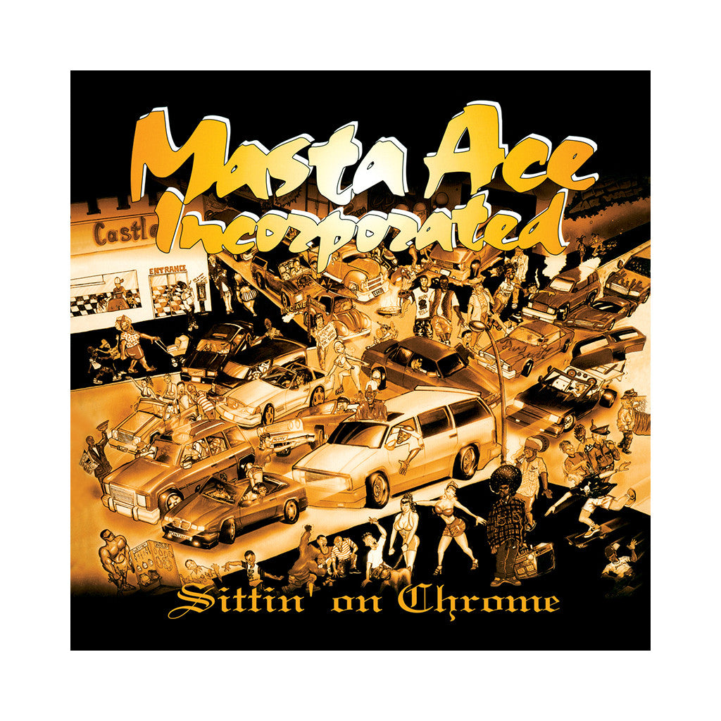 Masta Ace Incorporated - 'Sittin' On Chrome' [CD]
