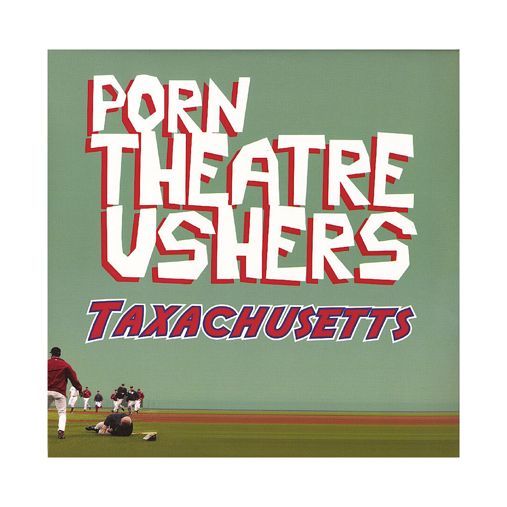 Porn Theatre Ushers - 'Taxachusetts' [(Black) Vinyl [2LP]]