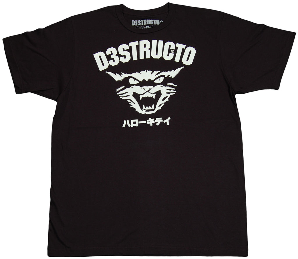 <!--2011061406-->Destructo - 'Hellcat' [(Black) T-Shirt]