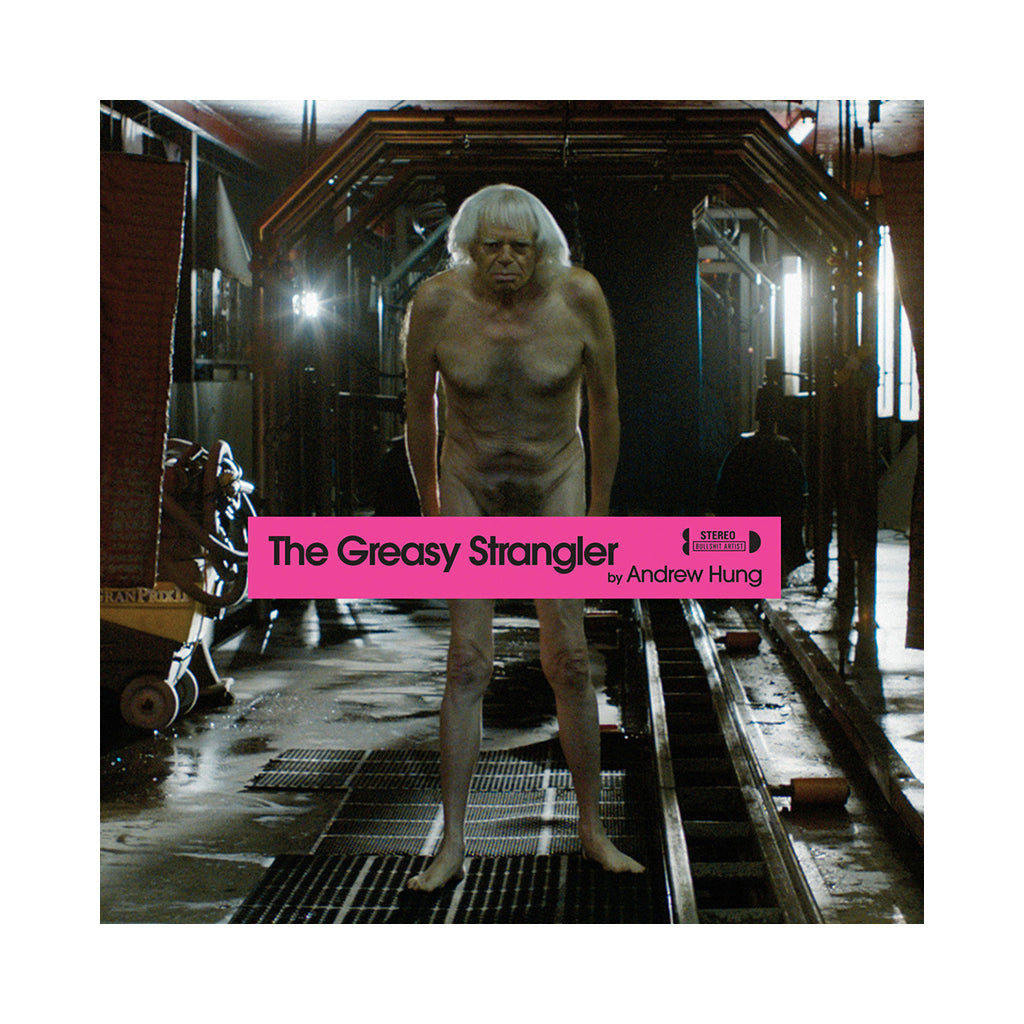 Andrew Hung - 'The Greasy Strangler (Original Soundtrack)' [(Pink) Vinyl LP]