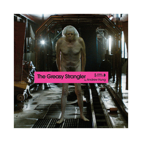 "[""Andrew Hung - 'The Greasy Strangler (Original Soundtrack)' [(Pink) Vinyl LP]""]"